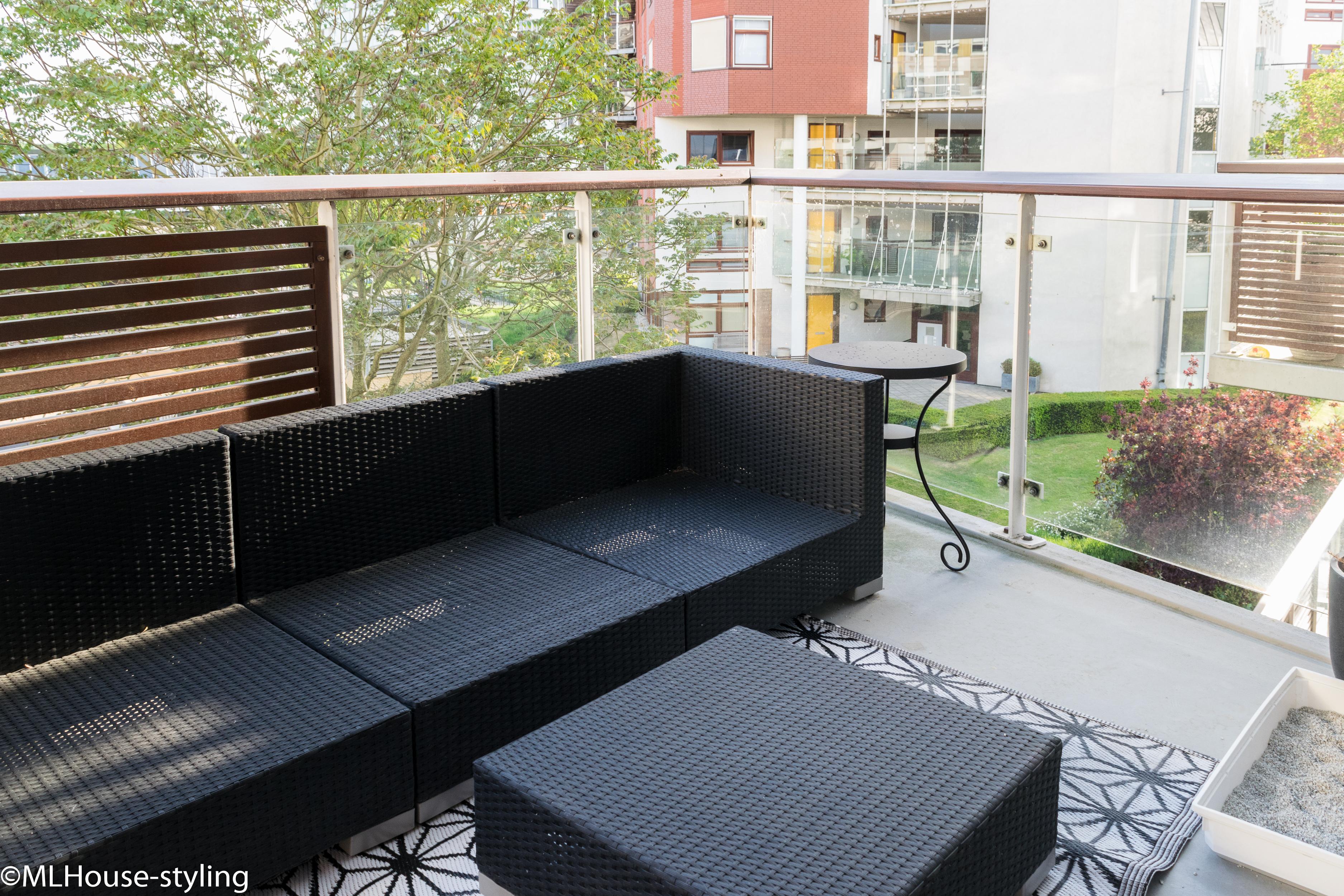 Balkon voor